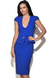 Tempest Penny Peplum Dress