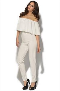 Celebrity Frill Jumpsuit
