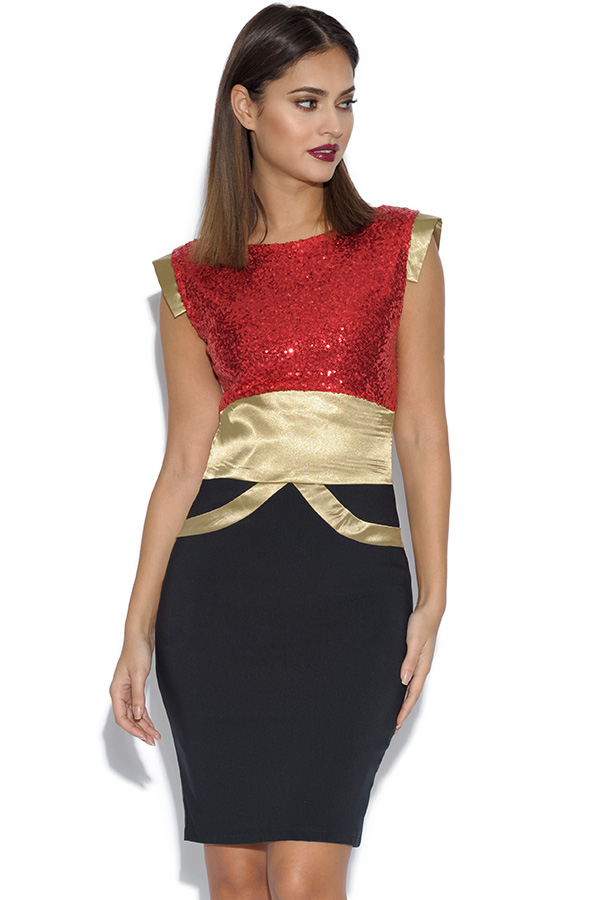 Tempest Ollie Sequin Dress