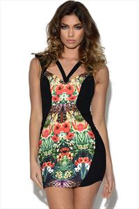 Ginger Fizz Tropical Visions Dress
