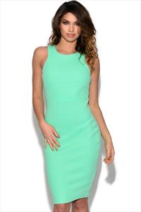 Paper Dolls Mint Bodycon Dress
