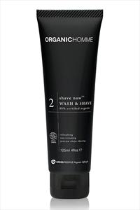 Green People Organic Homme 2 Wash And Shave
