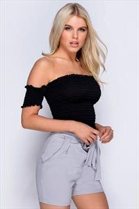 Bardot Shearing Boob Tube Top