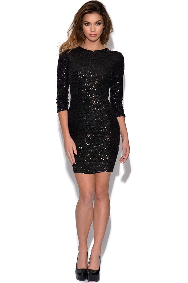 Sequin Bodycon Dress