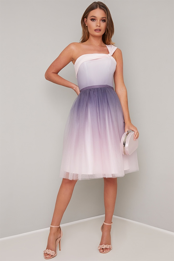 Lilac Ombre Dress