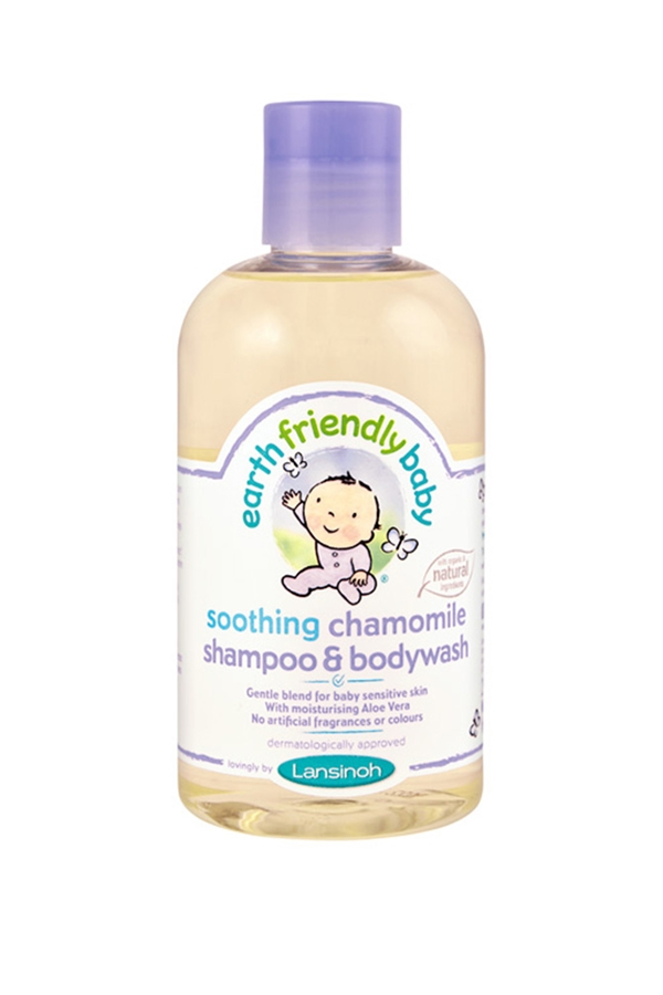 Earth Friendly Baby Organic Shampoo and Bodywash Chamomile