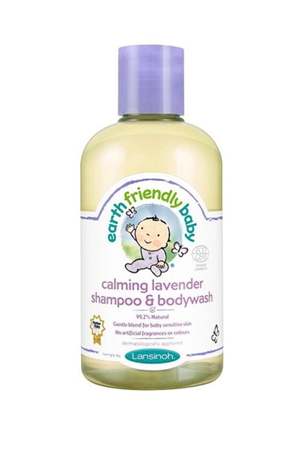 Earth Friendly Baby Organic Shampoo and Bodywash Lavender