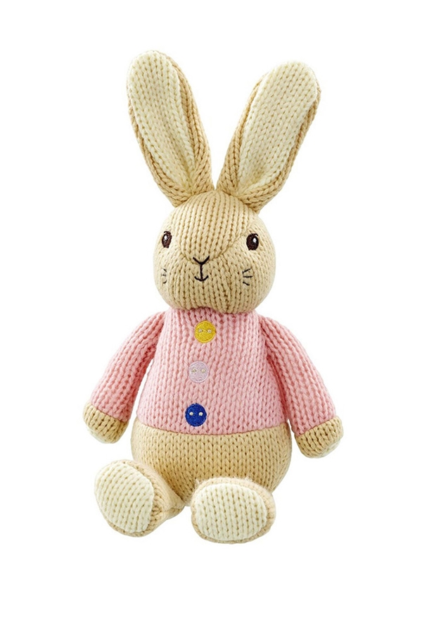 Made With Love Flopsy Rabbit Knitted Toy