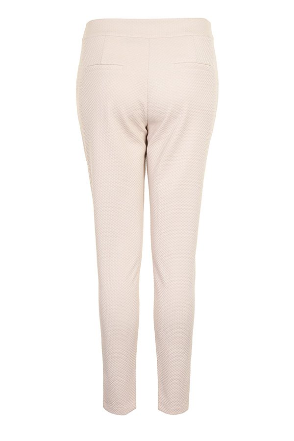 Paper Dolls Textured Tapered Trousers