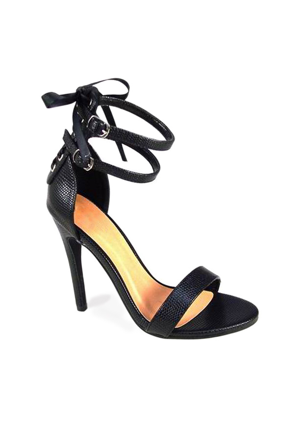 Bow Detail Strappy Sandals