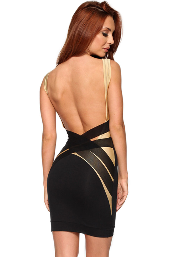 Quontum Barely There Mini Dress