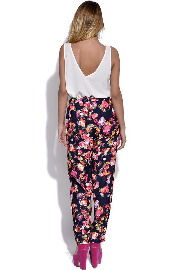 Girls On Film Kaleidoscope Floral Trousers