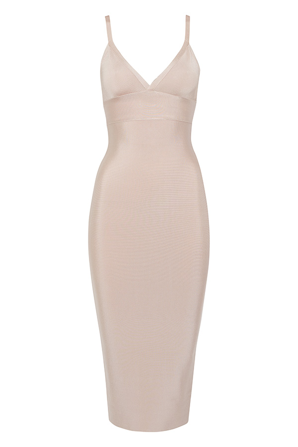Nude Bandage Dress