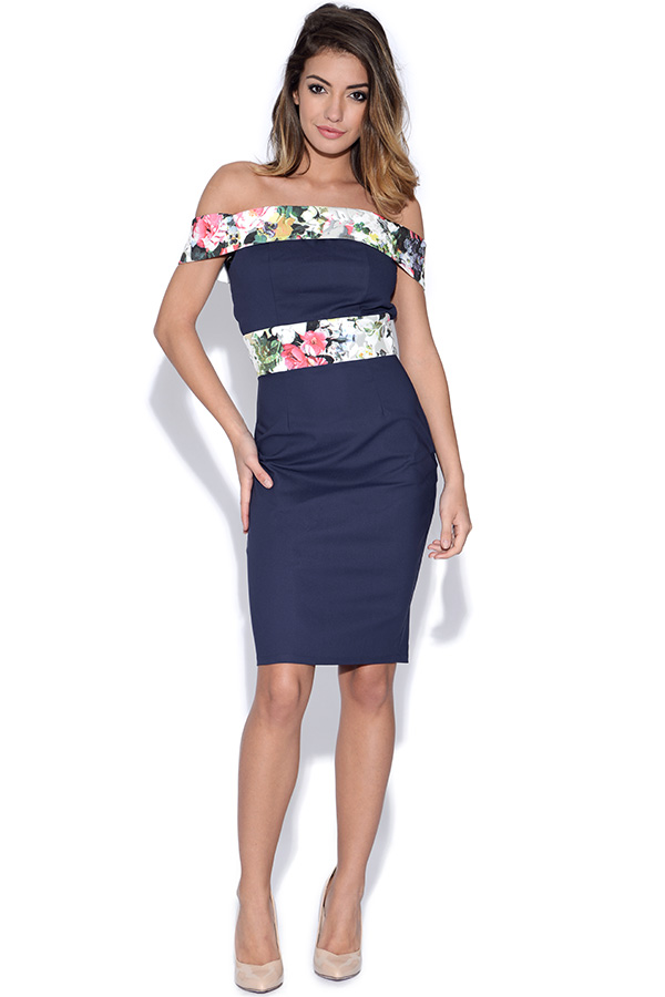 Paper Dolls Bardot Dress
