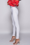 White High Waist Jeggings