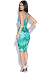 Vegas Tropical Bodycon Dress