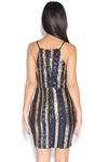 Striped Sequin Dress