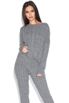 Cosy Cable Knit Lounge Set