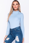 Long Sleeve High Neck Bodysuit