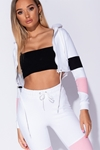 Colour Block Hooded Lounge Suit