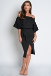 Batwing Wrap Dress