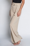 Belted Wide Leg Trousers