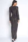 Luxe Sparkle Wrap Full Length Dress