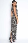 Luxe Sequin Embellised Gown