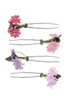 Delicate Floral Hair Pins